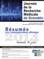 Journée de la Recherche Médicale 2014 - Accueil