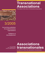 TransAssoc cover 3/2005 - Union of International Associations