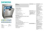 Siemens SN278I03TE LAVE-VAISSELLE 60 PL