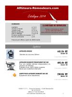 CATALOGUE 2014 11 04 - Affuteurs
