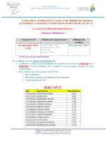 BAC-SVT - Univérsité Hassan 1er