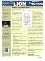 lire le journal de novembre - Lions Clubs International