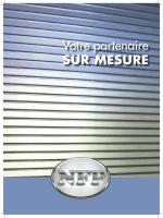 BROCHURE NFP.indd - Rideaux Métalliques
