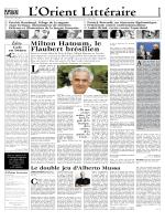 Milton Hatoum, le Flaubert brésilien