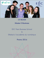 Consulter le CV Book Master E-Business
