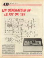 UN GÊNÊRA TEUR BF LE KIT OK 123