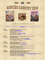01 Agenda Sorties Country 2016 - 23 février 2016