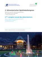 Programme définitif et abstract book du congrès
