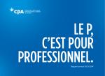 Rapport annuel 2013-2014 - Ordre des CPA du Québec