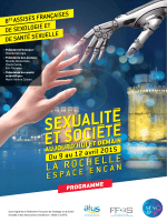 Programme en PDF - Assises Sexologie 2015