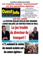 Mercredi 03 Décembre 2014 - Ouest-info