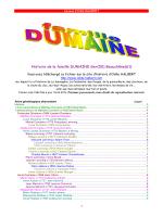 Histoire de la famille DUMAINE Ger(50) Beauchêne(61)