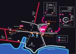 Plan des parkings - Foire internationale de Marseille