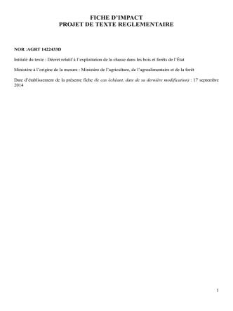 Décret n° 2015-260 du 4 mars 2015 relatif à l