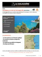 Sardaigne, le trek du Selvaggio Blu