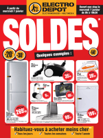 Soldes - Electro Depot