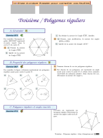 Troisième / Polygones réguliers