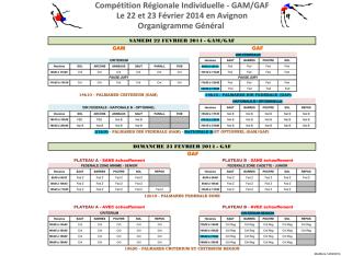 Compétition Régionale Individuelle - GAM/GAF Le 22 - Archive-Host