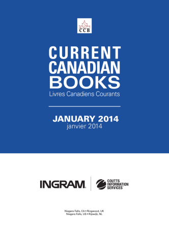 Current Canadian Books - January 2014
