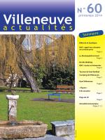 Printemps 2014 - Commune de Villeneuve