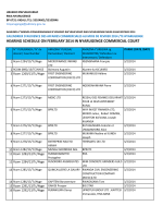 hearing schedule on february 2014 in nyarugenge
