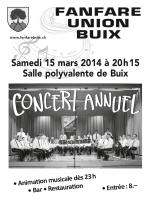 Programme - Fanfare Union
