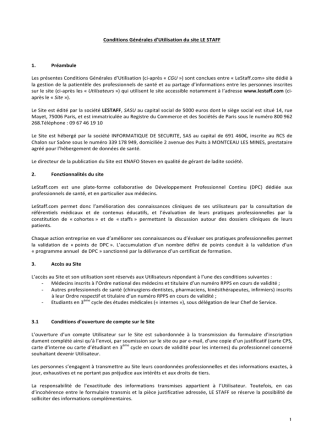 C.G.U. - LeStaff