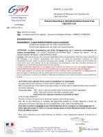 l`organigramme - Fédération Française de Gymnastique