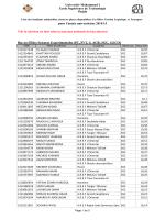 Bac ou Filière Sciences Expérimentales (PC, SVT, S. AGR, SGC, S