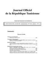 Télécharger la version française du texte intégral de ce JORT en