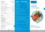 Télécharger notre nouvelle brochure service traiteur