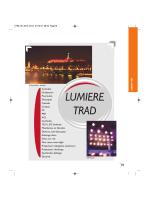 Éclairage traditionnel (HMI, Fresnels, etc...)