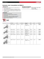 Console acier inoxydable A4 MQK-R Applications Données