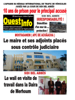 Vendredi 23 et Samedi 24 Janvier 2015 - Ouest-info