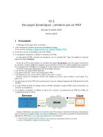 TP 3 Des pages dynamiques : premiers pas en PHP