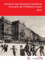 Jahrbuch der Schweizer Hotellerie 2013