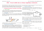 ICE3 - Circuit mobile dans un champ magnétique stationnaire