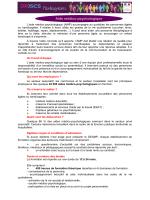 Aide médico-psychologique - DRJSCS Ile-de