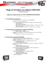 Stage de formation du software UNILOGIC