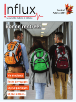 Influx – Octobre 2014 - AGÉÉMUS