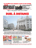 DUEL À DISTANCE - Le Jeune Independant