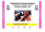 seniors femmes 2015 - Fédération française de boxe