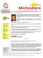 Lettre de la Michodière 10-2015