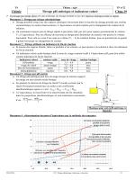 Chimie Titrage pH-métrique et indicateur coloré Chap.19