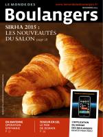 Le Monde des Boulangers / National / Décembre 2014