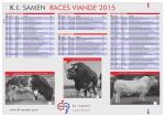 K.I. SAMEN RACES VIANDE 2014
