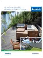 2 - Configurateur terrasses et bardages