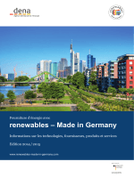 renewables - Made in Germany 2014/2015