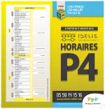 Dépliant horaires Ligne P4 Lons Perlic - Pau EFS