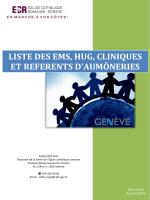 liste des établissements médico-sociaux